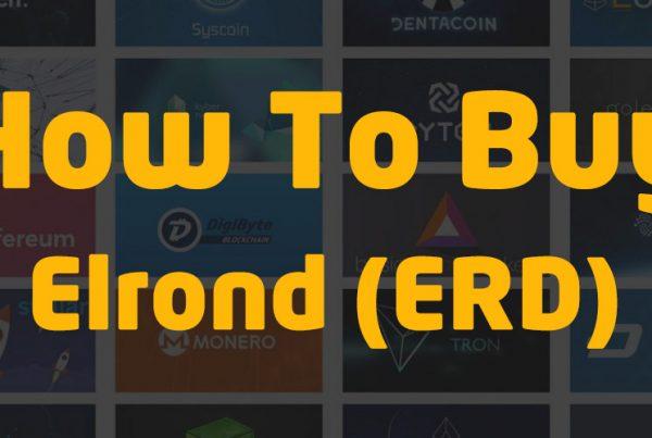 how to buy elrond ERD