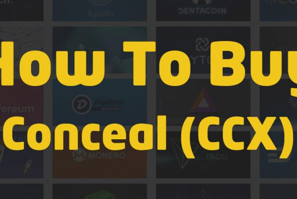 how to buy conceal ccx crypto