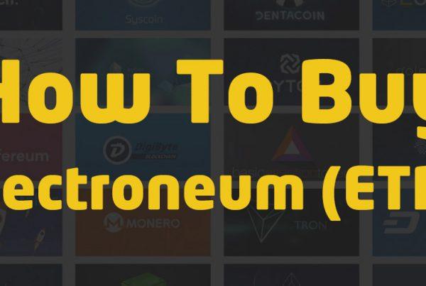 how to buy electroneum etn crypto