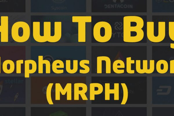 how to buy morpheus network mrph cryptocurrency