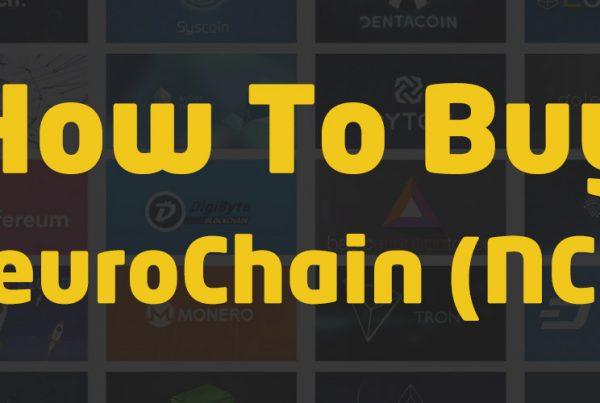 how to buy neurochain ncc crypto
