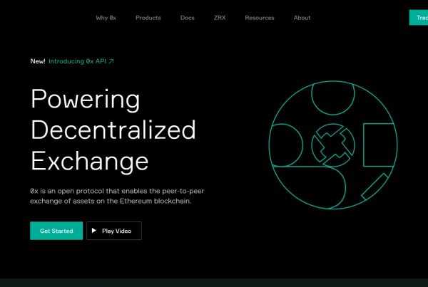 0x ZRX Website