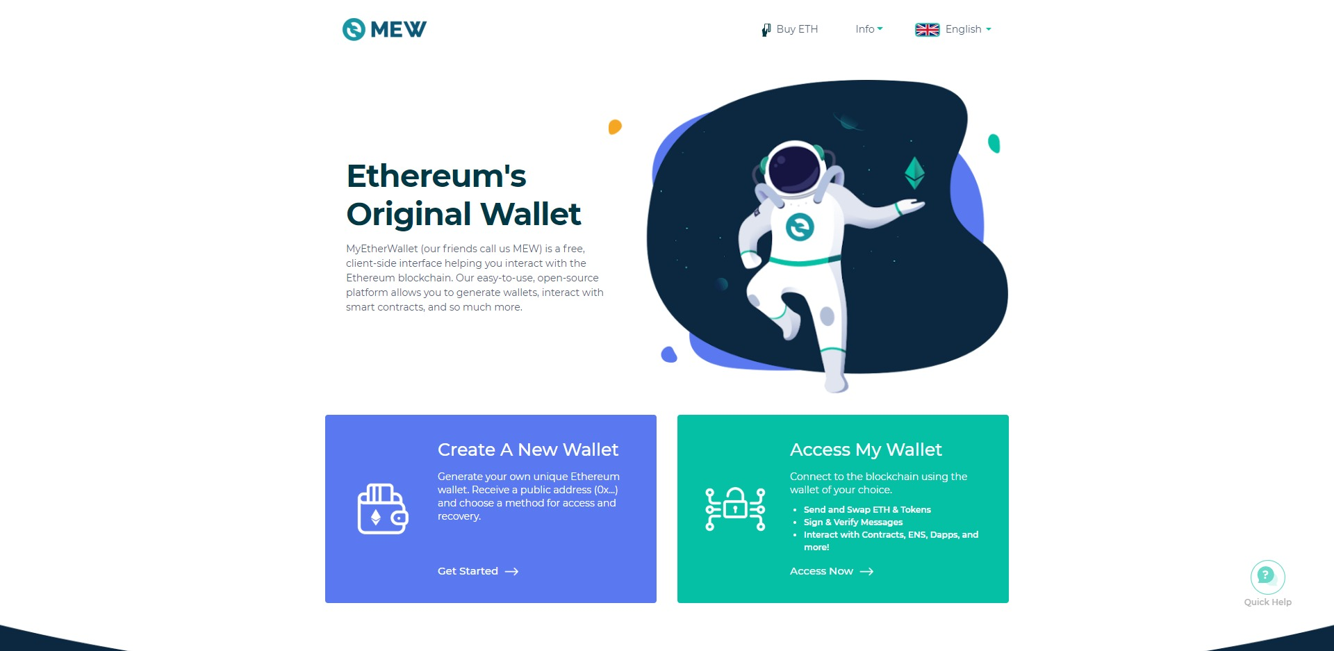 MyEtherWallet Website