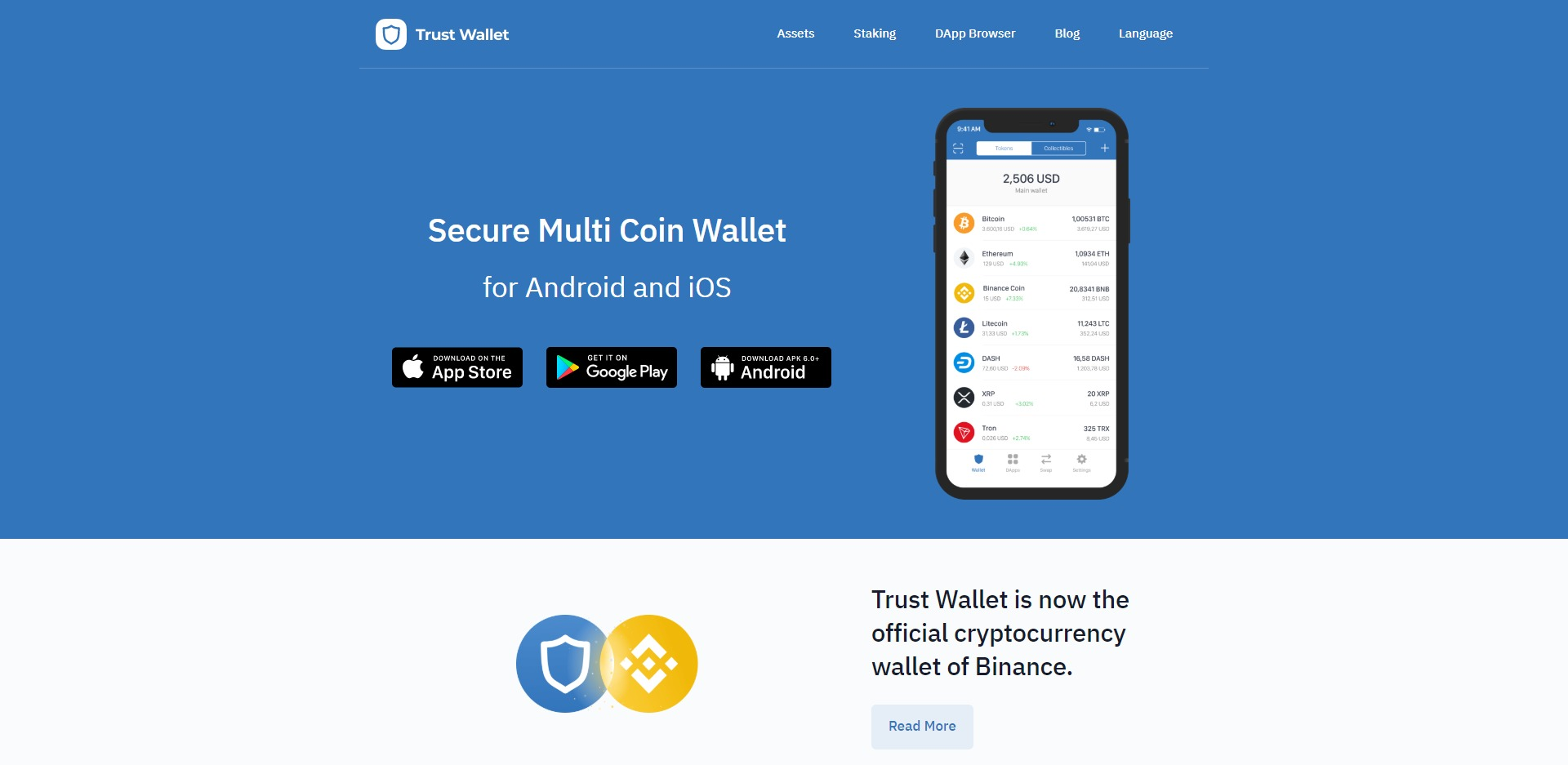 Trust Wallet Website