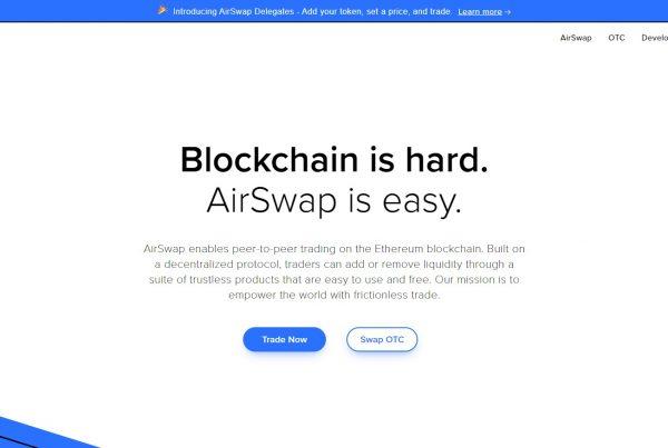 Airswap AST Wallet