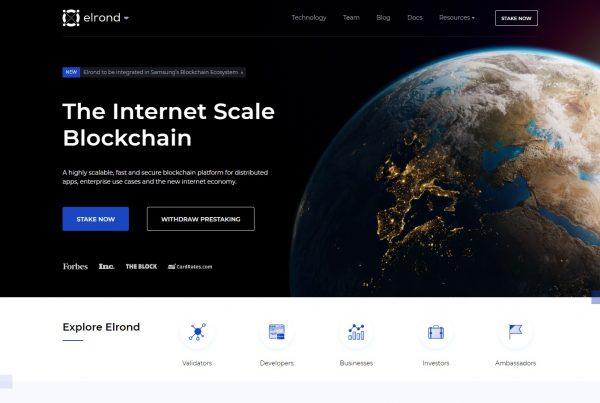 Elrond ERD Price Prediction Website