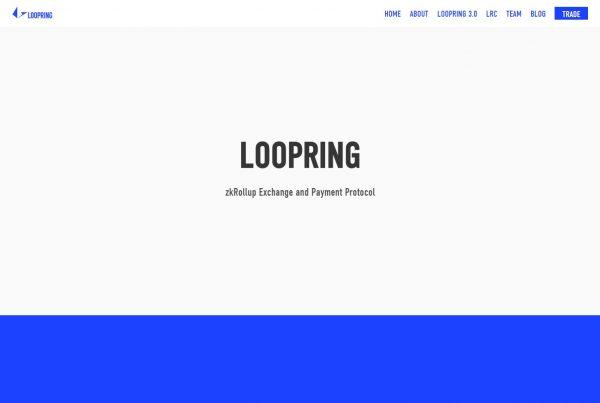 Loopring LRC Price Prediction Website