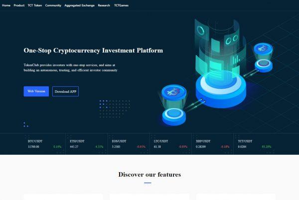 TokenClub TCT Price Prediction Website