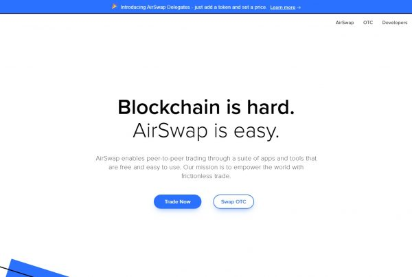 Airswap AST Price Prediction Website