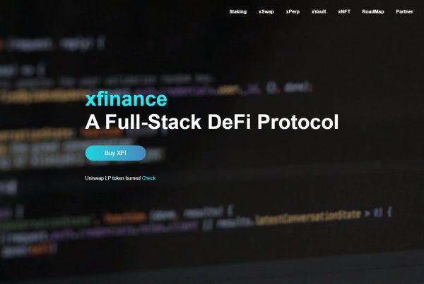 Xfinance XFI Price Prediction Website