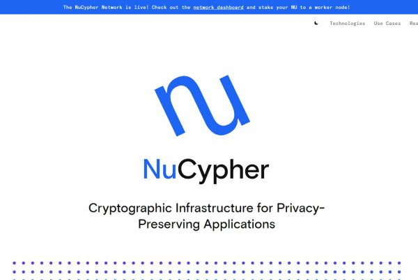 Nucypher NU Price Prediction Website