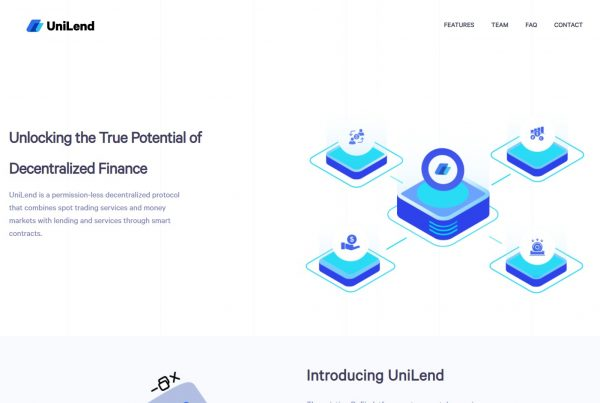 UniLend UFT Price Prediction Website