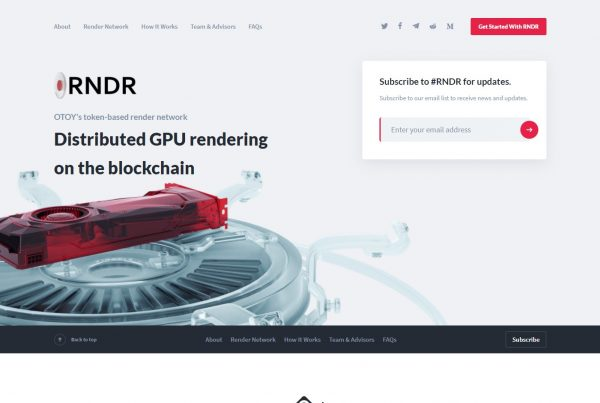 Render Token RNDR Price Prediction Website