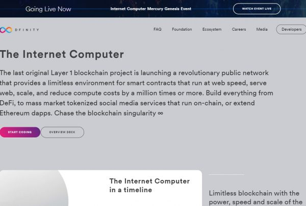 Internet Computer ICP Dfinity Price Prediction Website