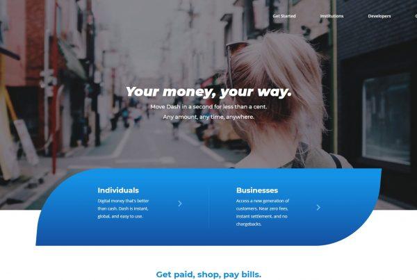 Dash Price Prediction Website