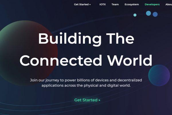 IoTeX IOTX Price Prediction Website