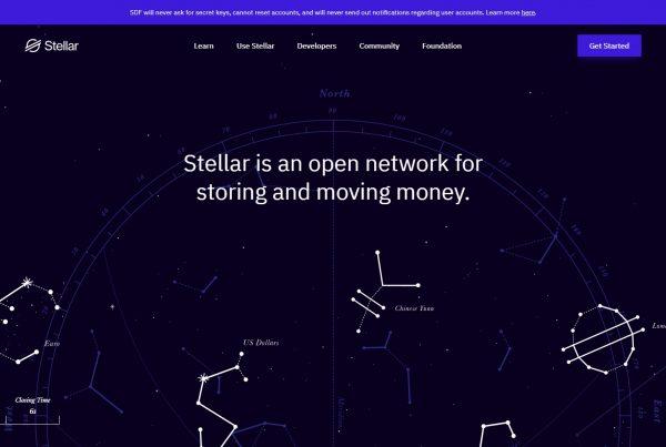 Stellar XLM Price Prediction Website