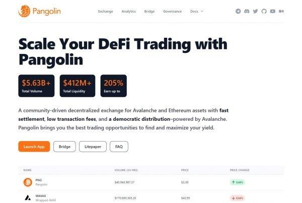 Pangolin PNG Price Prediction Website