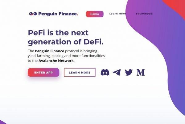 Penguin Finance PEFI Price Prediction Website