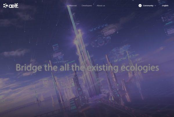 Aelf ELF Price Prediction Website