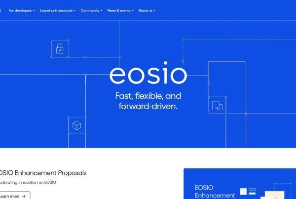 EOS Price Prediction Website