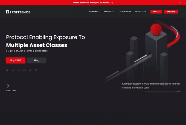 Persistence XPRT Price Prediction Website